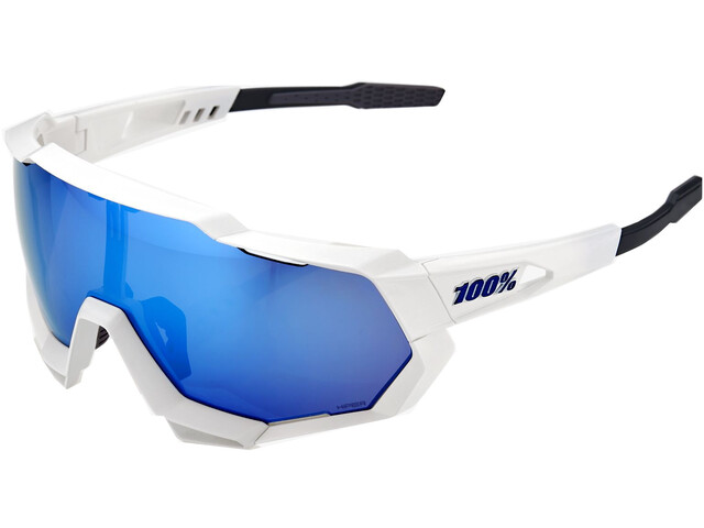 100% Speedtrap HD Multilayer Mirror/Hiper Glasses matte white